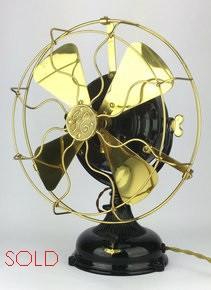 1905 Restored General Electric Pancake Fan