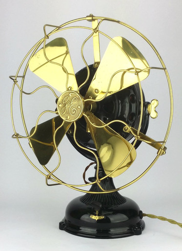 1905 Restored General Electric Pancake Fan Antiquefanparts