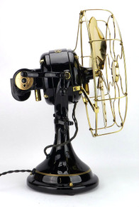 "Rare General Electric 12"" 6 Blade Sidewinder Fan"