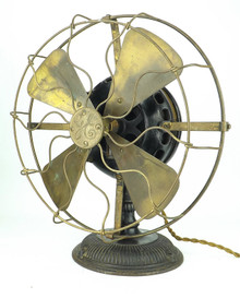 "1901 12"" General Electric Pancake Fan"
