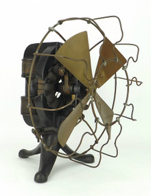 Thomas Edison Brass Fan