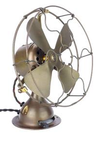 """8"""" Emerson Trojan All Brass Fan"""