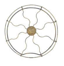 "Original 12"" GE Brass Parallel Ring Guard"