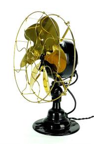 Emerson 21666 Brass Blade 6 Wing Desk Fan
