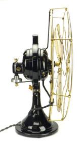 "Restored 16"" 1915 GE 3 Star Oscillator"