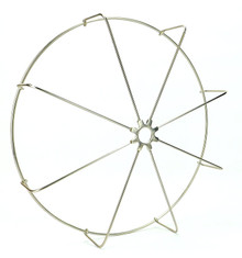 LIMITED PRODUCTION GUARD FOR SPECIALTY WATER FAN NICKEL PLATED STRAIGHT WIRES