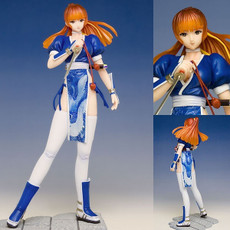 Monsieur BOME Dead or Alive Collection #15 Kasumi Blue Dress PVC Figure