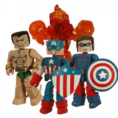 DC Minimates Marvel: Invanders Box 4-Pack Action Figure Exclusive