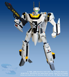 Macross Series 1 VF-1S Valkyrie Roy Focker 1/100 Scale Action Figure