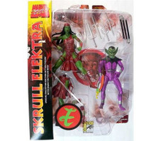 Marvel Select: Skull & Elektra 2-Pack Action Figure SDCC 09 Exclusive