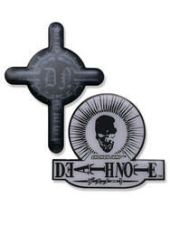 Death Note Skull and Cross Pins (Set of 2)