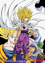 Dragon Ball Z: Ghoan Group Fabric Poster (Wall Art)