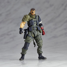RevolMini: Metal Gear Solid V - Venom Snake (Olive Drab Combat Fatigues) Action Figure (THE PHANTOM PAIN)