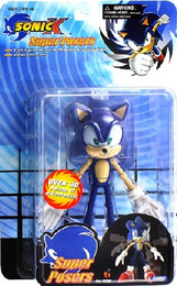Sonic X: Super Posers Sonic 5 inch Tall Action Figure