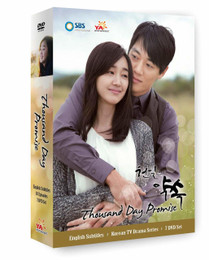 Korean TV Drama Thousand Day Promise Box Set DVD (US Version)