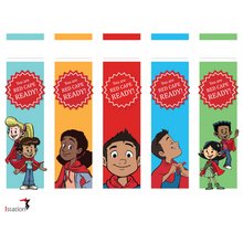 Red Cape Motivational Bookmark Download