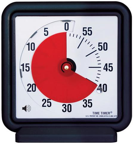 Audible Time Timer 12 Quot Visual Countdown Classroom Timer