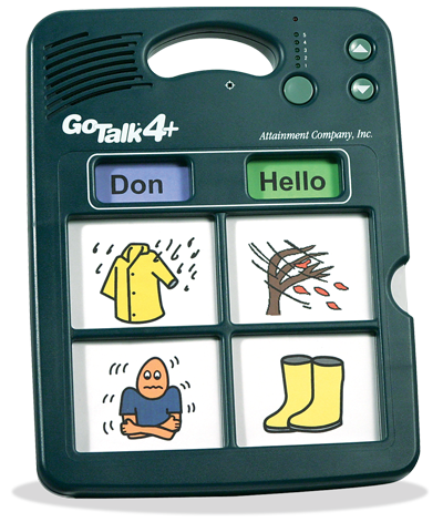 Gotalk 4 Communication Device Assistive Technology Autism