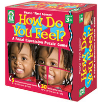 How Do You Feel Facial Expression Puzzle Game