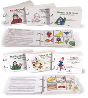 Beginning Language Interactive Reading Books - Set 1 (8 Books) Best Seller!