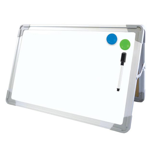 Magnetic Desktop Easel Sturdy Whiteboard For Special Needs