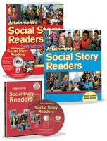 Autism reading comprehension books that also teach social skills!