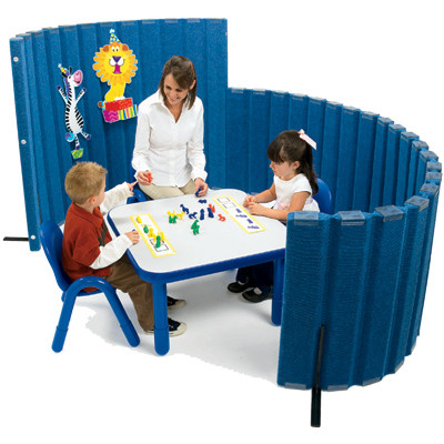 Large Sound Sponge Quiet Room Divider Autism Classroom