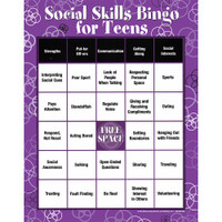 Social Skills Bingo for Teens