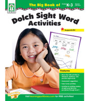 The Big Book of Dolch Sight Word Activities Resource Book - Autism Academic Supports Reading