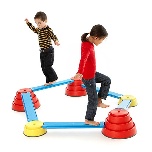 Gross Motor Toys : Build n balance set gross motor therapy toys