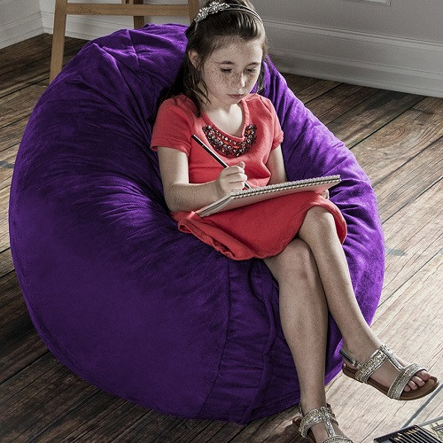 calming and comforting beanbag chair for special needs kids