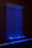 Fiber Optic Cascade Wall for Sensory Rooms for kids autism.