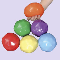Yuk-E-Ball Set of six weighted balls