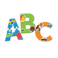 Alphabet Puzzle Cards - Educational Toys for Autism