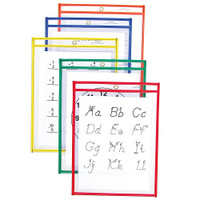 Reusable Dry Erase Clear Pockets