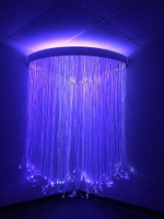 Fiber Optic Corner Shower for Sensory Rooms