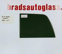 1997-2011 Dodge Dakota RIGHT SIDE sliding rear window back glass slider