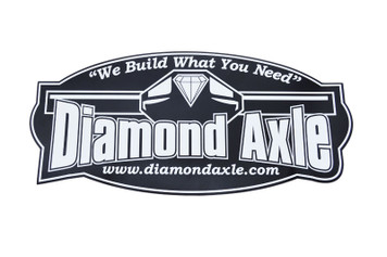 Diamond Axle Sticker