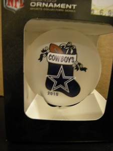 Dallas Cowboys 2010 Ornament