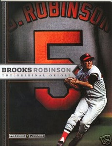 Press Box Brooks Robinson Legends magazine