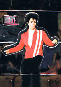 Elvis Milestone75th Birthday Pop Up Card PU 6