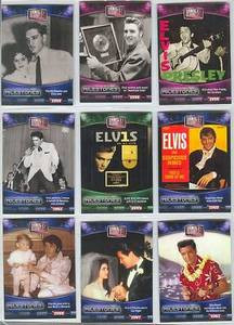 Elvis Milestone 75th Birthday Parallel set 1 thru 75