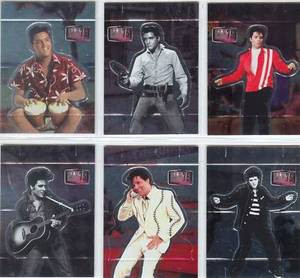 Elvis Milestone 75 Birthday Pop Up card set 1 thru 6
