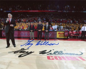Gary Williams Autographed 8x10 Photo