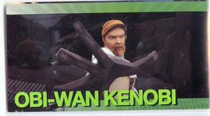 Star Wars Clone Wars Widevision Foil Obi-Wan Kenobi