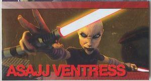 Star Wars Clone Wars Widevision Foil Asajj Ventress