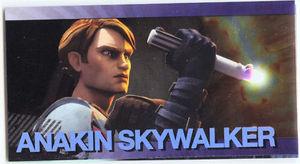Star Wars Clone Wars Widevision Foil Anakin Skywalker