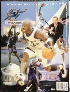 Michael Jordan Washington Wizards Yearbook
