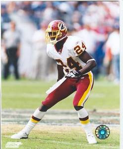 Champ Bailey Redskins 8 x 10 Color Photo