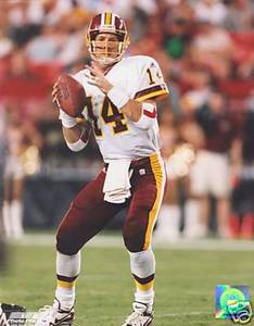 Brad Johnson Redskins 8 x 10 Color Photo